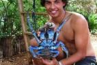 能捕老鼠能爬树的霸道椰子蟹_大千世界