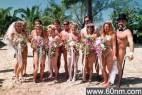 世界十大最潮的创意婚礼:裸婚居首位_大千世界