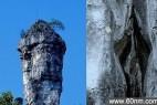 四川宜宾景区现男女生殖器岩石景观_大千世界