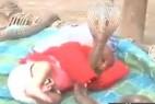 印度一家庭让4条眼镜蛇守护熟睡婴儿_大千世界