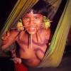 雅诺马马原始部落 裸体习俗吃亲人尸体_大千世界