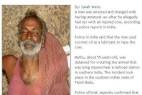 印度男子强奸母牛被拘 母牛伤重死医院_大千世界