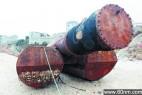 海上漂来奇异大铁管 疑是海面疏浚设施_大千世界