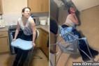 女子醉酒后坐儿童椅 臀部被卡难脱身_大千世界