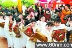 """七对""""袖珍人""""在北京举办集体婚礼_大千世界"""