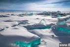 """俄罗斯加尔湖面上的美丽""""绿宝石""""_大千世界"""