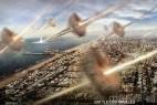 南京现怪云 与《洛杉矶之战》外星入侵相似_大千世界