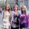 不可思议!乌克兰全家整成芭比家族_大千世界