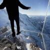 玻璃太空舱体验室 弥留1000米高空让你腿软