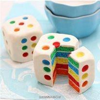 喜欢这样的蛋糕,切开就有惊喜