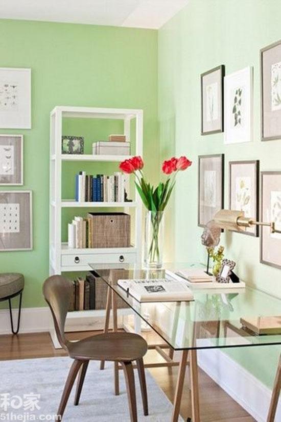 春色引入书房来 12款时尚书房设计