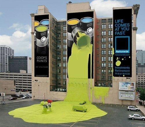 【创意】这些巨幅创意广告刺激妳了吗!